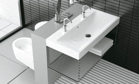Genial Modern Bathroom Ideas Cielo Toilet Bidet Square Sink.
