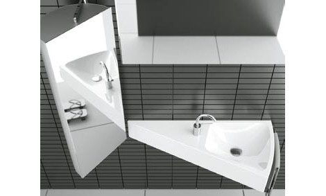 triangular bathroom sinks modern bathroom ideas from cielo new for 2008 14822