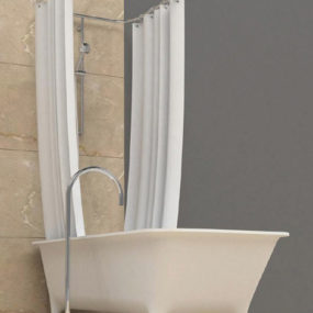 Modern Bathtub on Legs by Zucchetti / Kos – new Morphing