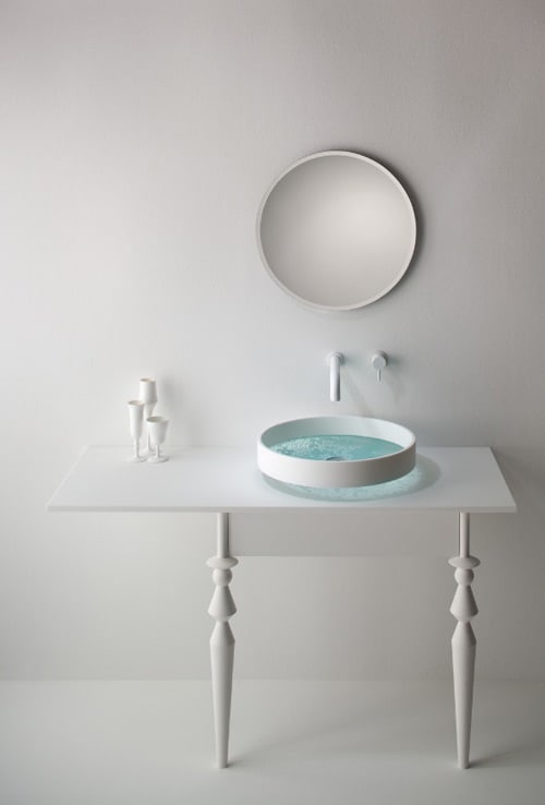 modern beautiful vanity basin omvivo 1 Beautiful Vanity and Basin by Omvivo