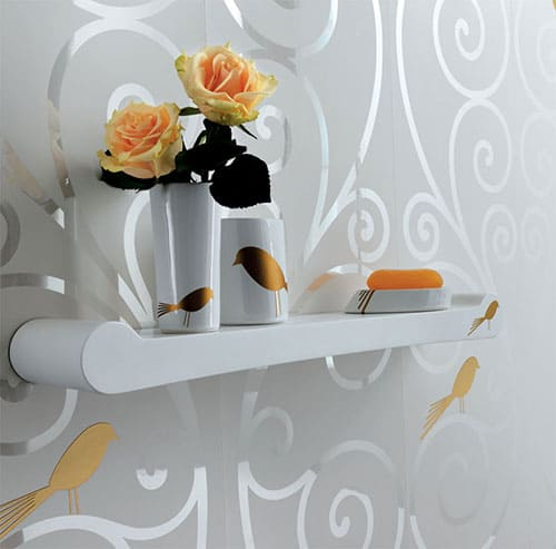 modern ceramic bathroom accessories fap ceramiche mensola papageno 1