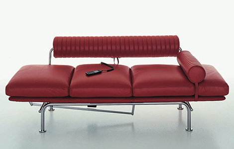 Modern Chaise Lounge Sofa Bed Up & Down Lounge Sofa by i4 Mariani