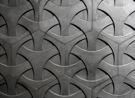 modern concrete tiles ogassian 1 Modern Concrete Tiles by Daniel Ogassian