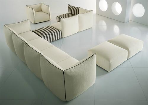 modern cozy furniture settanta saba italia 1 Modern Cozy Furniture   Settanta by Saba Italia