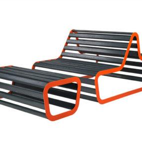 Modern Deck Bench – design by Michael Koenig