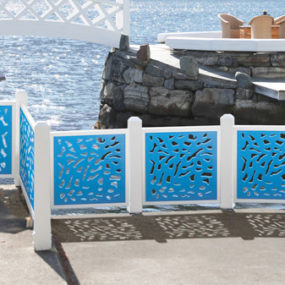 Modern Decorative Fences and Dividers by Esedralab
