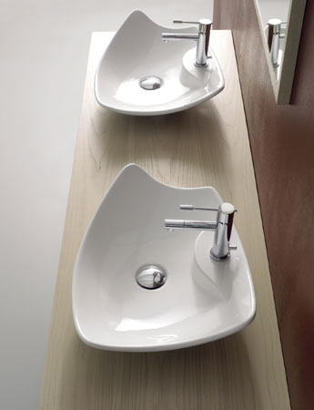 Good Modern Decorative Vessel From Scarabeo U2013 Kong Vessel Sinks