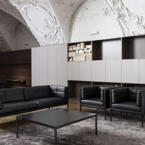 Designer Seating – Modern Seating Furniture 'Atrium' by New Vienna Workshop