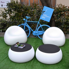 Modern Garden Furniture Plust Gumball by Euro 3 Plast