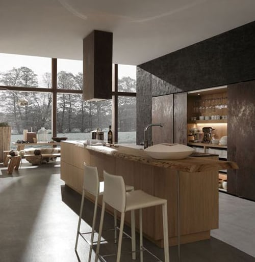 Modern german kitchen designs by rational trendy cult neos for Trendy kitchen designs