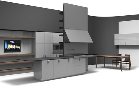 Modern Kitchen Design By Dada U2013 New Set Kitchen