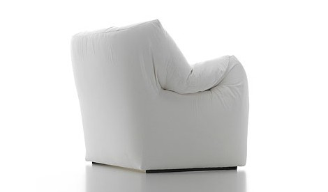 modern leather chair cassina heaven back Modern Leather Armchair   designer chair by Tokujin Yoshioka
