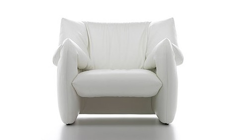 Modern Leather Chair Cassina Heaven Front Modern Leather Armchair Designer  Chair By Tokujin Yoshioka
