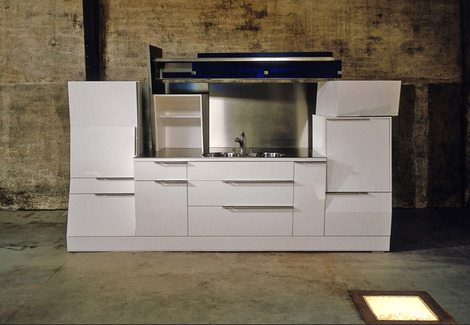 modern loft kitchens belgium 2 thumb Modern Loft Kitchens from Belgium   Jo Wynant kitchen
