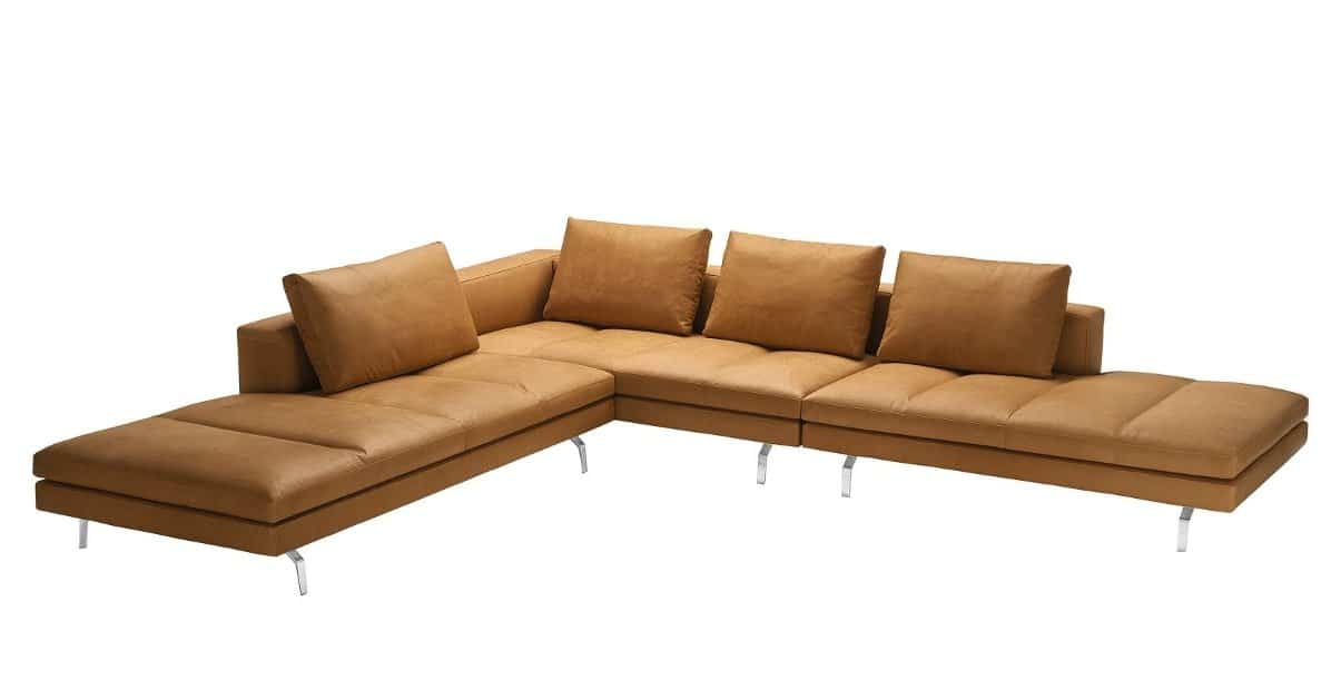 modern modular sofa with removable cover by zanotta