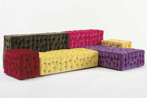 modern modular sofas button tufted la michetta meritalia 2