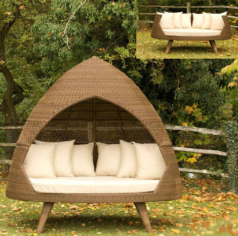 modern patio huts alexander rose 2 Patio Huts   modern outdoor huts by Alexander Rose – Ovo