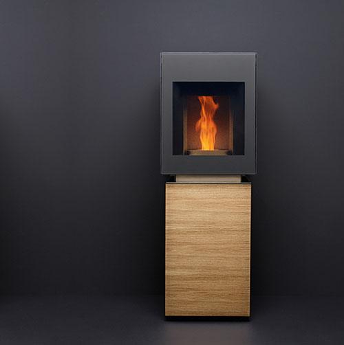 modern pellet stove gabaan 1