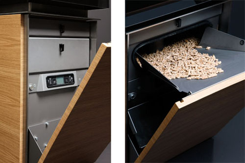 modern pellet stove gabaan 2 Modern Pellet Stove by Gabaan