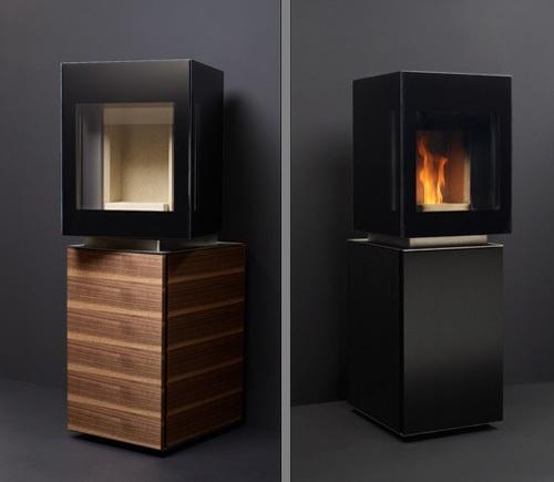 modern pellet stove gabaan 3