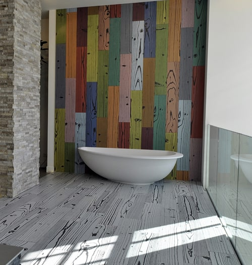 Modern Porcelain Floor Tile Uonuon 14 Ora Italiana 1 Patterned And Colored