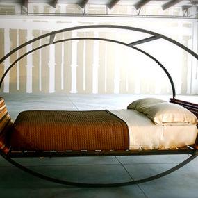 Modern Rocking Bed by Shiner – Mood