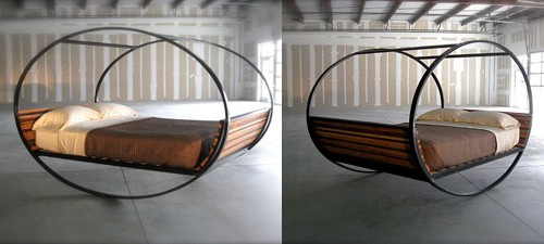 modern rocking bed shiner mood 2 Modern Rocking Bed by Shiner   Mood