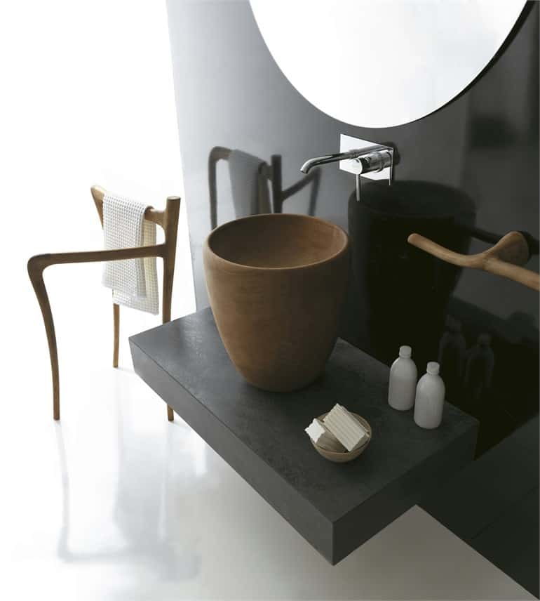 Modern Rustic Bathroom Furniture
