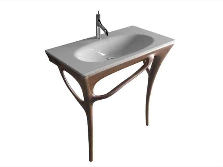 view in gallery sink
