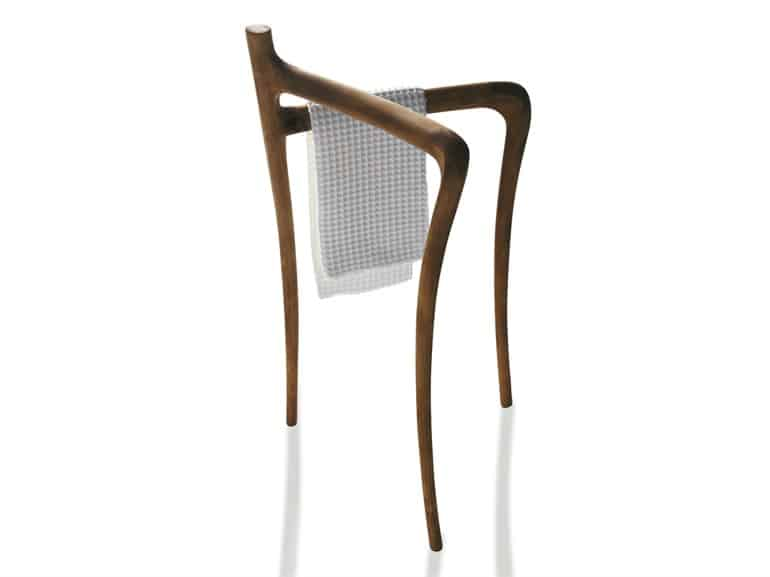 View In Gallery Modern Rustic Bathroom Furniture Ergo Galassia Towel Rack.