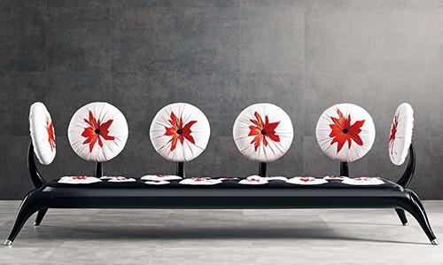 modern sitting desart sea urchin 2 Modern Sitting by Desart   Sea Urchin