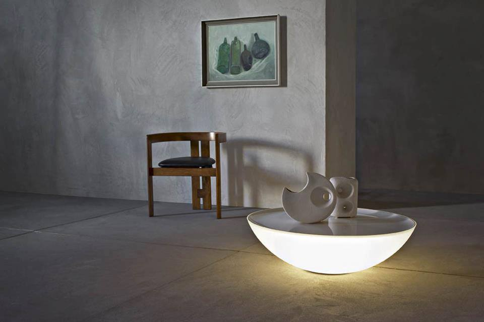View In Gallery Modern Solar Lamp Table Combo By Foscarini 3.