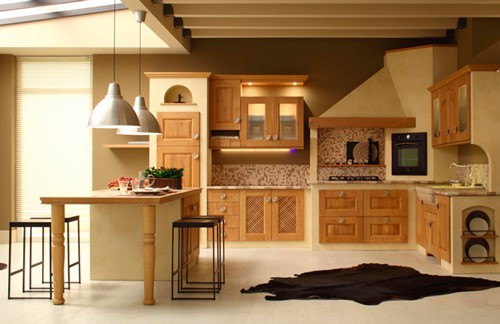 modern traditional kitchen arrex solid oak 2 Modern Traditional Kitchen by Arrex in Solid Oak