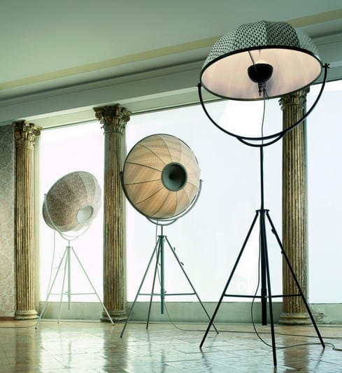 Modern Tripod Floor Lamp gets restyled – Fortuny Giudecca 805 by Pallucco