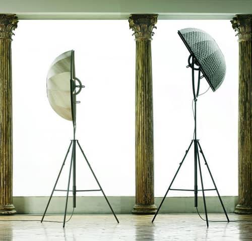 modern tripod floor lamp fortuny giudecca 805 pallucco 2