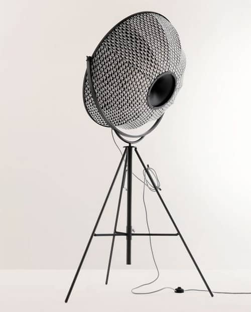 Modern Tripod Floor Lamp gets restyled - Fortuny Giudecca 805 by ...