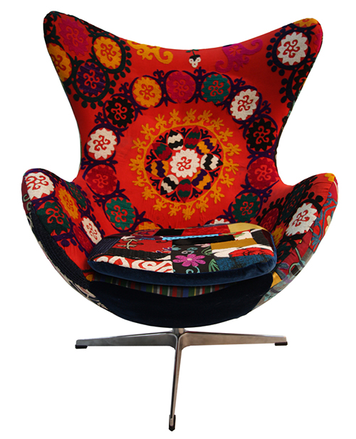 Modern Upholstered Armchairs By Kmp