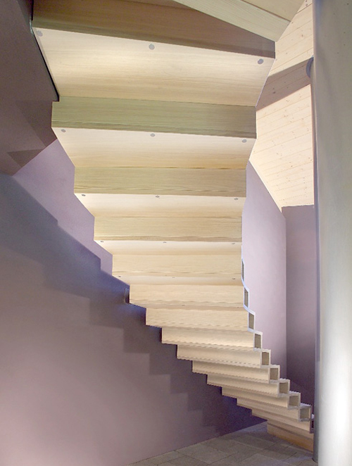 modern wood stairs design marretti 2 Modern Wood Stairs Design by Marretti