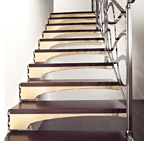 modern wood stairs design marretti 6