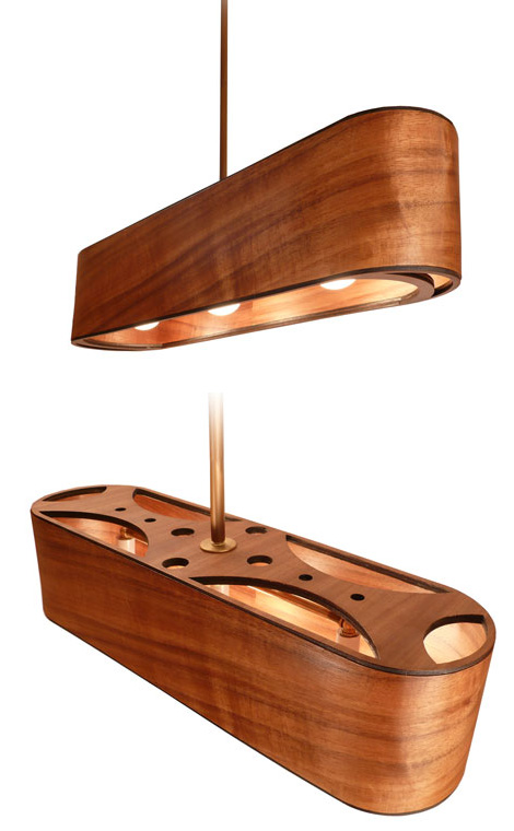 modern wooden lamps phosphoria 1 Wooden Lamps and Wooden Lamp Shades by Phosphoria