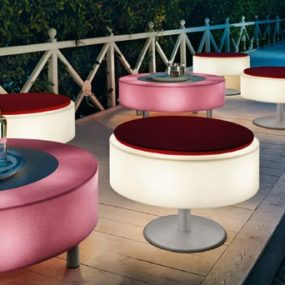 Illuminated Furniture – light up patio furniture by Modoluce