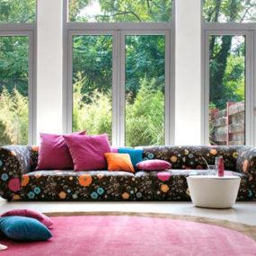 Modular Fabric Sofa – modern 'Forum' Sofas by Linea Italia