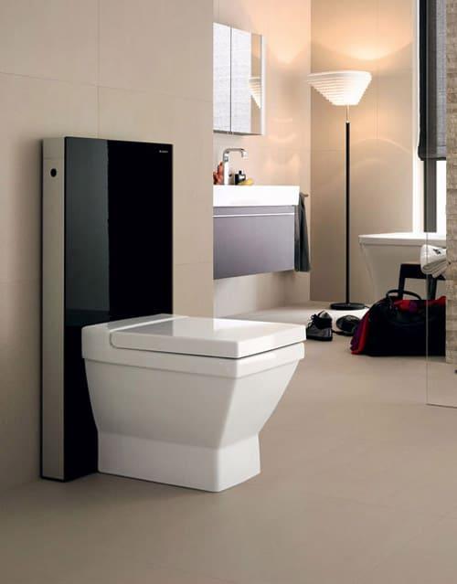 modular toilet by geberit monolith. Black Bedroom Furniture Sets. Home Design Ideas
