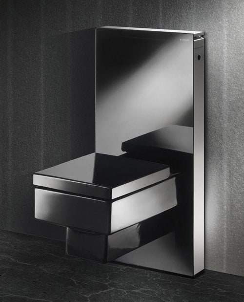 modular toilet by geberit monolith. Black Bedroom Furniture Sets. Home Design Ideas