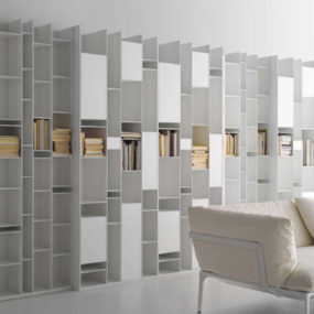 Modular Wall Storage System by MDF Italia – Random