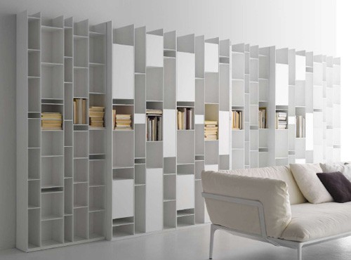 Attractive Modular Wall Storage System By MDF Italia U2013 Random