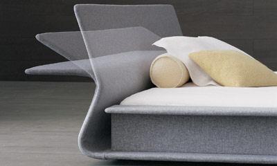 molteni clip bed headboard Contemporary Bed from Molteni   the Clip Italian bed