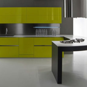Modern Kitchen Design from Moretuzzo – Class X defies gravity