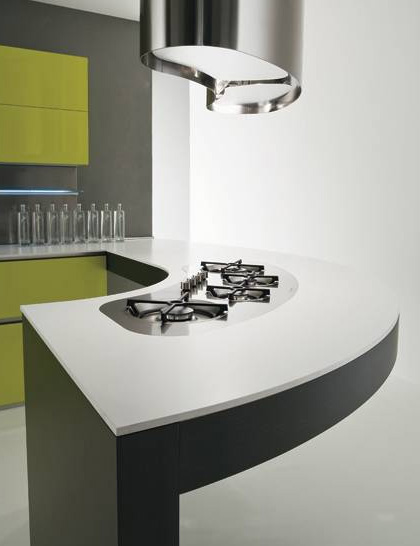 moretuzzo kitchen class x 2 Modern Kitchen Design from Moretuzzo   Class X defies gravity