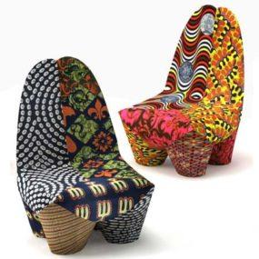 Moroso Binta Armchair – Africa inspired